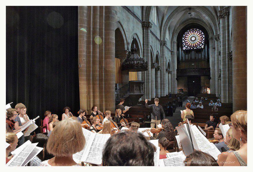 Répétition - Orchestre et Choeur de l'Académie @Jean-Jacques Schneider
