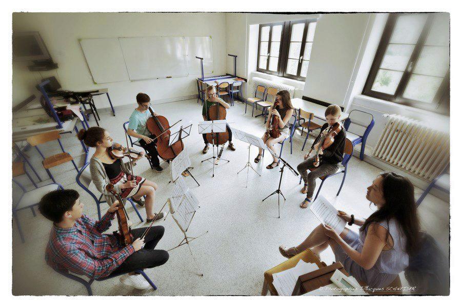 Cours de musique de chambre @Jean-Jacques Schneider