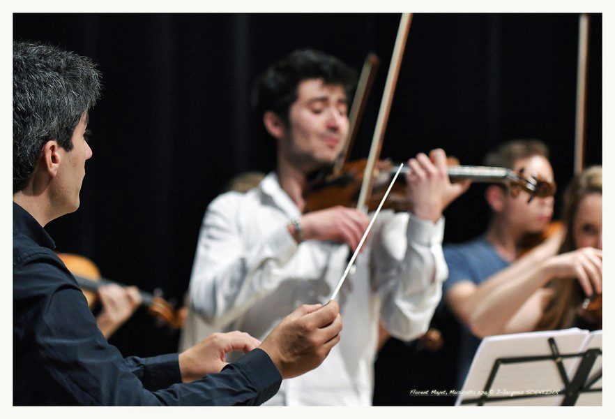 Répétition de l'Orchestre et Choeur de l'Académie @Jean-Jacques Schneider