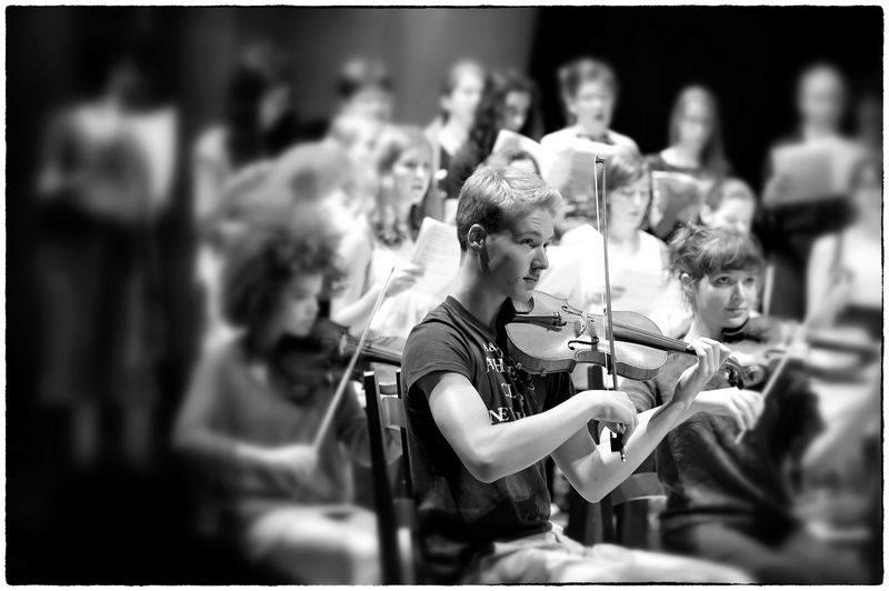 Orchestre de l'académie @Jean-Jacques Schneider