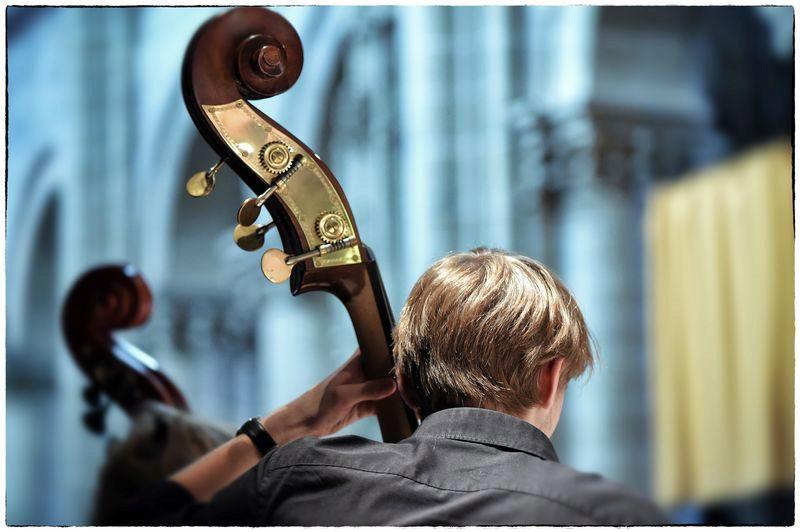 Contrebasse - Orchestre de l'Académie @Jean-Jacques Schneider