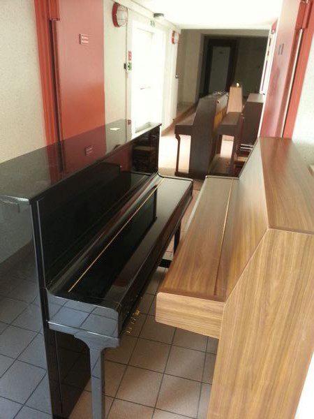 Livraison des pianos d'études