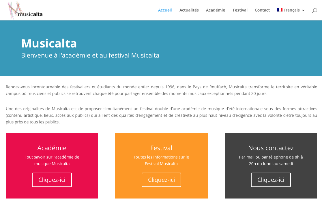Discover the new website Musicalta