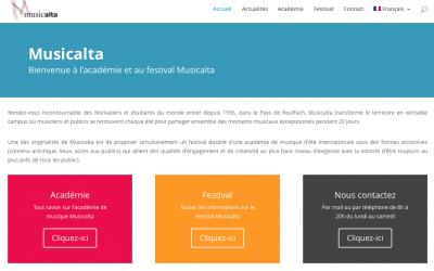 Découvrez le nouveau site internet de Musicalta