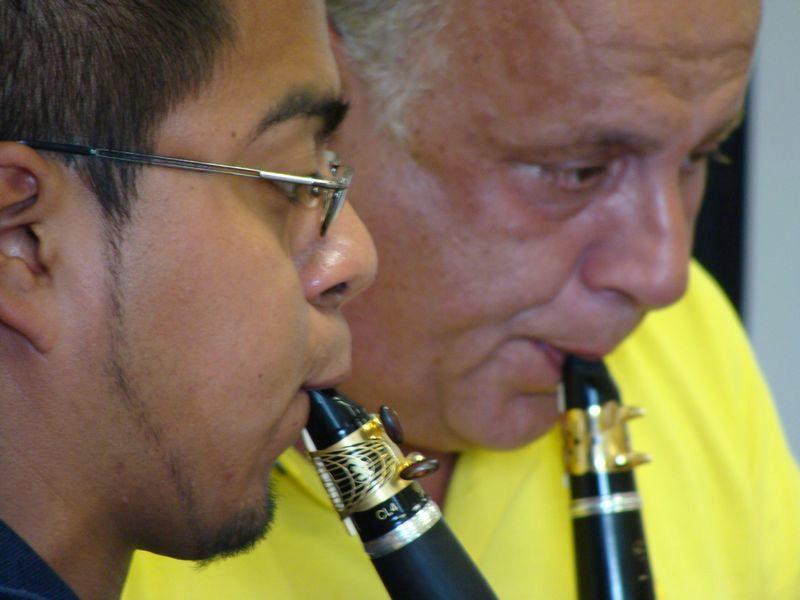 Antonio Saiote - stage de clarinette