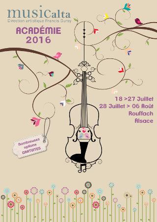 stage de musique 2016