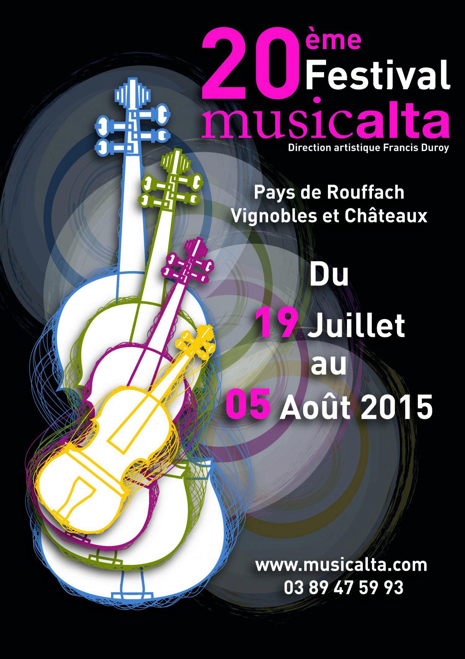 La programmation du 20ème festival Musicalta est en ligne