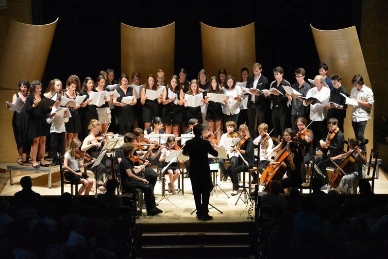 Choeur et orchestre à cordes de l'Académie