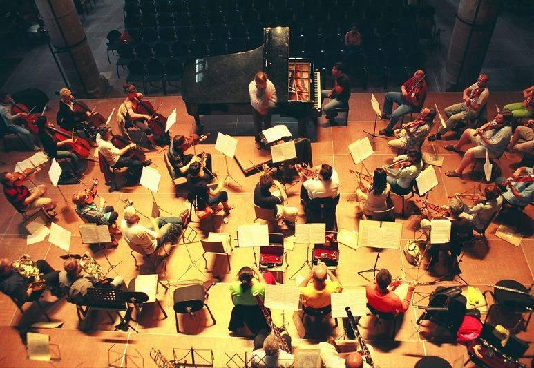 Marco Schiavo et l'Orchestre Philarmonique de Kiev
