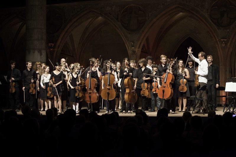 Gilles Apap et l'orchestre de l'Académie