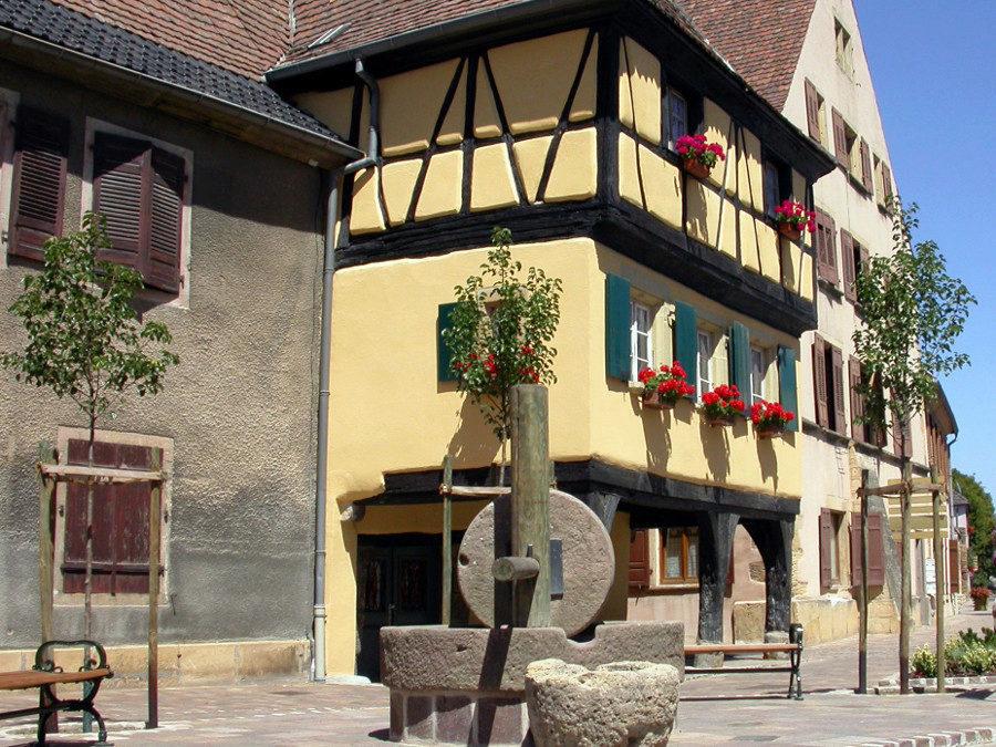 Maison-aux-trois-dames-Rouffach @Ville de Rouffach
