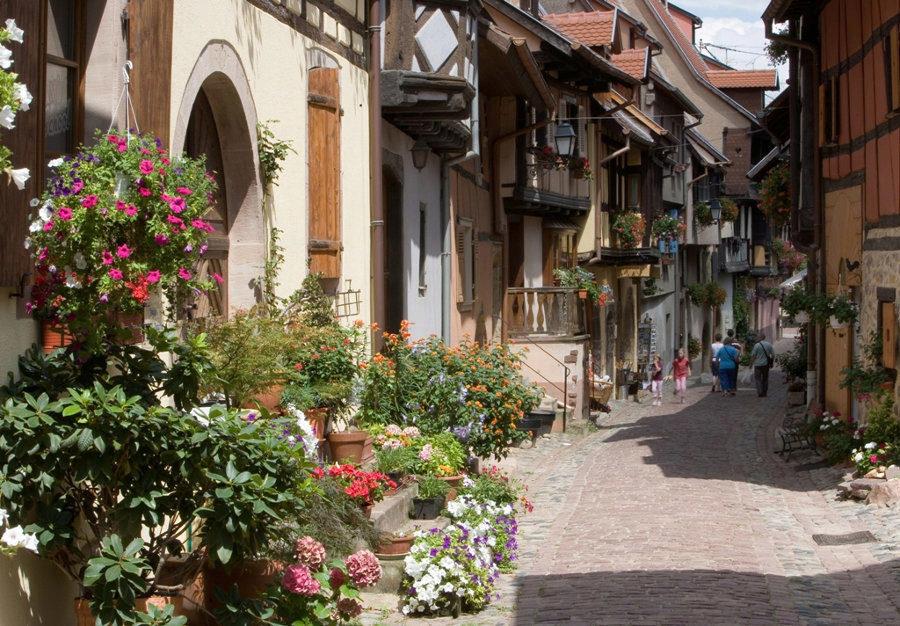 Rue d'Eguisheim @Mairie d'Eguisheim