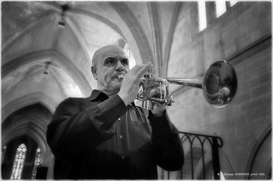 Répétition du Concert Trompette et Orgue @Jean-Jacques Schneider