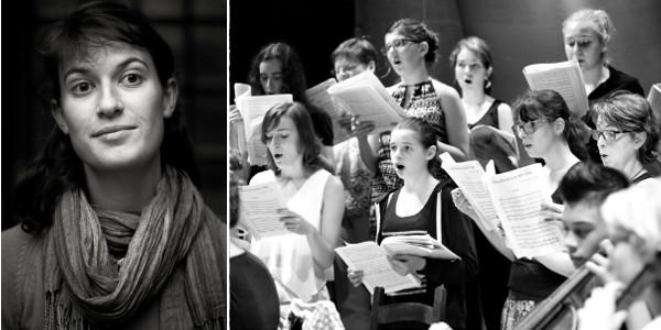 Orchestre Cordes et Choeurs 25-07-2017 Eglise Rouffach Direction Maude George