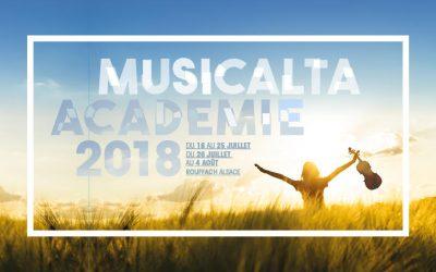 Summer music academy Musicalta 2018 is online