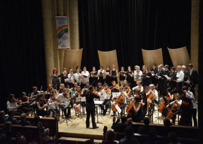 Maud Georges et l'orchestre de l'Académie @Jean-Jacques Schneider