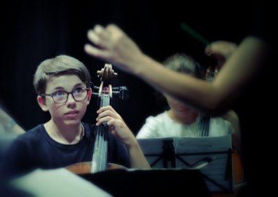 Etudiant de l'académie Musicalta @Jean-Jacques Schneider