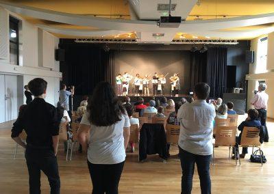 Audition de l'académie Musicalta