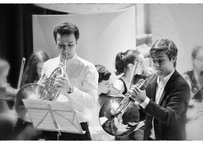 Etudiants de l'académie et l'orchestre de l'Académie @Jean-Jacques Schneider