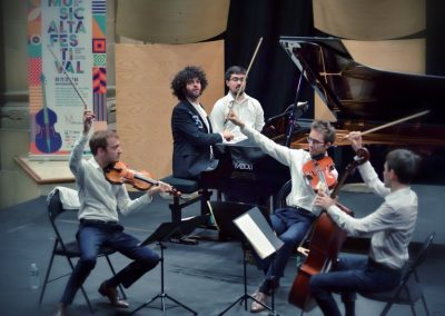 Simon Ghraichy et le Quatuor Yako @Jean-Jacques Schneider