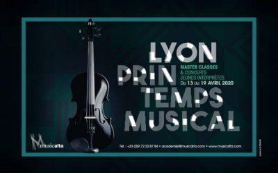 Lyon Printemps Musical, start of applications