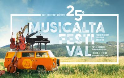 Découvrez la programmation de la 25è saison du Festival Musicalta !