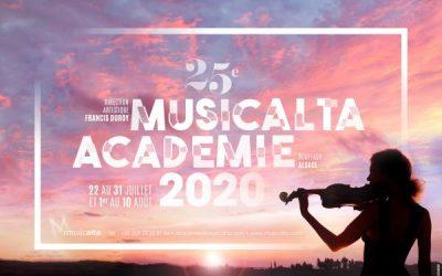 Summer music academy Musicalta 2020 is online