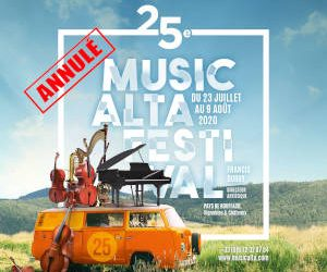 Cancellation of Musicalta Festival 2020